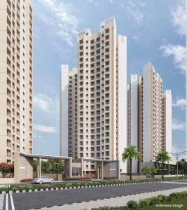 Gallery Cover Image of 850 Sq.ft 2 BHK Apartment for buy in Sunteck Maxx World, Naigaon East for 4450000