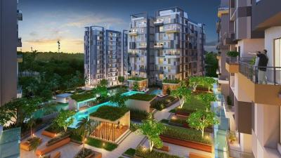 Gallery Cover Image of 1333 Sq.ft 3 BHK Apartment for buy in Merlin Maximus, Sodepur for 5498625