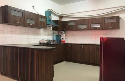 Kitchen Image of Alpine Viva Apartment in Krishnarajapura