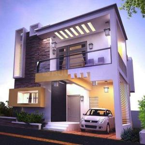 Gallery Cover Image of 1085 Sq.ft 2 BHK Independent House for buy in Gerugambakkam for 4900000