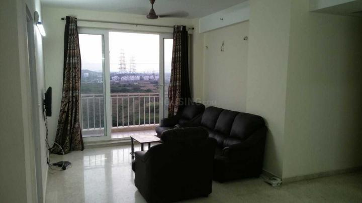 Living Room Image of 1400 Sq.ft 3 BHK Apartment for rent in Semmancheri for 25000
