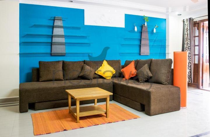 Living Room Image of PG 4642721 Kasturi Nagar in Kasturi Nagar