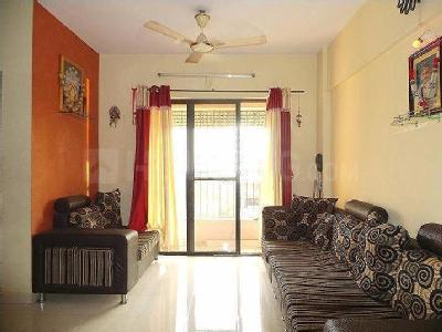 Living Room Image of 700 Sq.ft 1 BHK Apartment for buy in Greater Khanda for 5200000