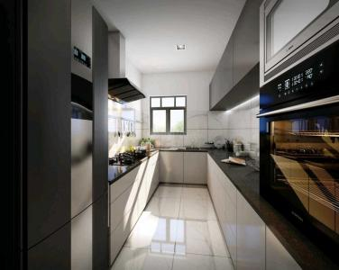 Kitchen Image of 1484 Sq.ft 3 BHK Apartment for buy in Srijan Natura, New Alipore for 8458800