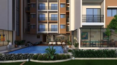 Gallery Cover Image of 1100 Sq.ft 2 BHK Apartment for buy in Unimont Aurum, Karjat for 3158000