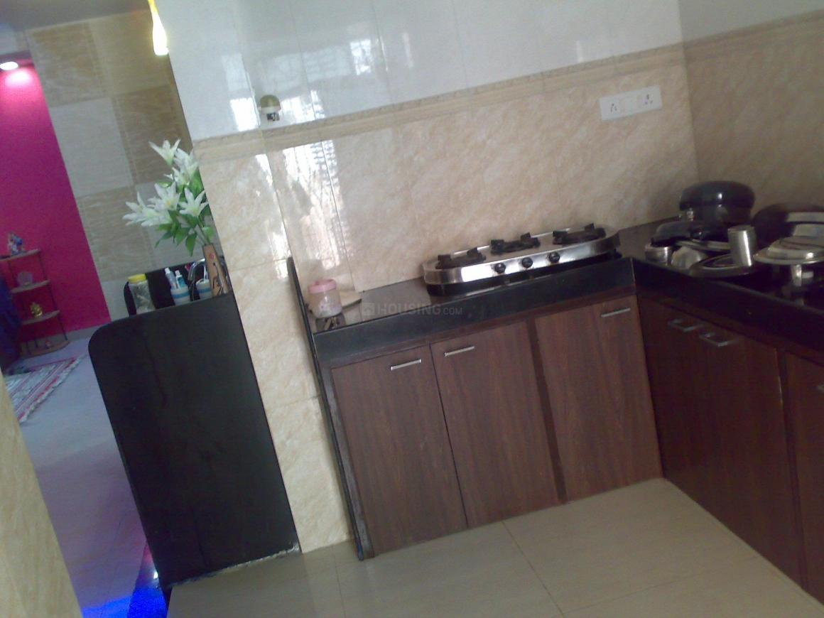 Kitchen Image of 1550 Sq.ft 3 BHK Apartment for buy in Kharghar for 9800000