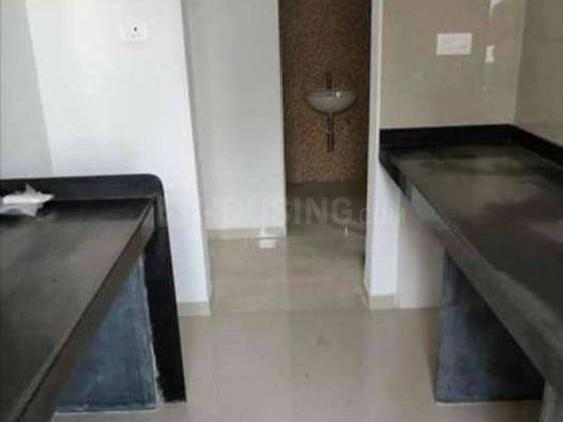 Kitchen Image of 650 Sq.ft 1 BHK Apartment for rent in Palava Phase 1 Nilje Gaon for 9900
