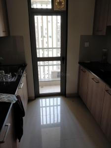 Gallery Cover Image of 545 Sq.ft 1 BHK Apartment for rent in Vrindavan Society, Thane West for 15500