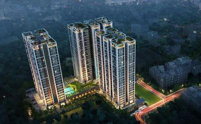 Gallery Cover Image of 739 Sq.ft 2 BHK Apartment for buy in Vinayak Vista, Lake Town for 5200000