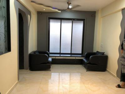 Gallery Cover Image of 560 Sq.ft 1 BHK Apartment for rent in Airoli for 18500