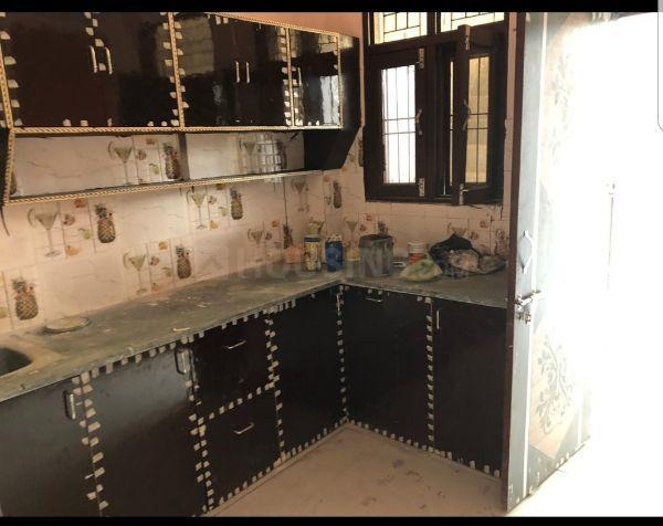 Kitchen Image of 770 Sq.ft 2 BHK Independent House for buy in Crossings Republik for 2750000