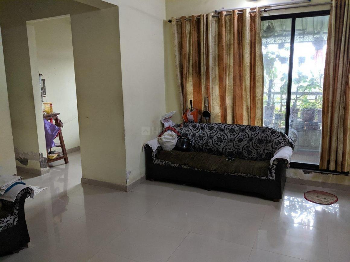 Living Room Image of 950 Sq.ft 1 BHK Apartment for rent in Dombivli East for 8500