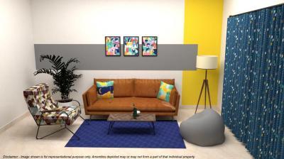Living Room Image of Stanza Living - Pelican Apartment in Karapakkam