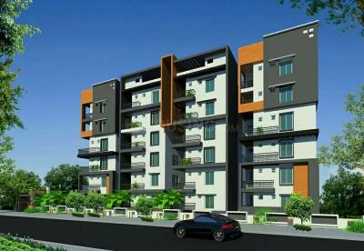 Gallery Cover Image of 1000 Sq.ft 2 BHK Apartment for buy in Akshita Heights Two Tower II, Malkajgiri for 4500000