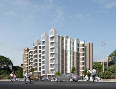 Gallery Cover Image of 400 Sq.ft 1 RK Apartment for buy in Om Vastu Sanveg Residency Phase II, Badlapur West for 1340000