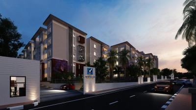 Gallery Cover Image of 1682 Sq.ft 3 BHK Apartment for buy in Vaishnavi North 24, Hebbal Kempapura for 12500000