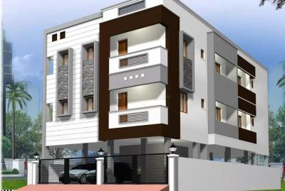 Gallery Cover Image of 1079 Sq.ft 2 BHK Apartment for buy in KSR Raj Paradise, Porur for 5800000