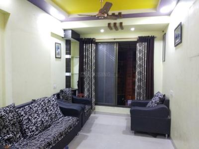 Gallery Cover Image of 710 Sq.ft 1 BHK Apartment for rent in Airoli for 24000