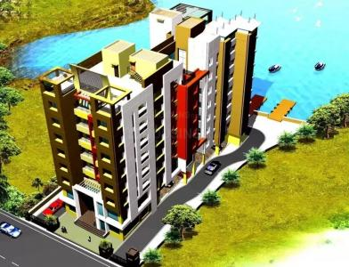 Gallery Cover Image of 1367 Sq.ft 3 BHK Apartment for buy in Daffodil Waterfront, Sarsuna for 7600000