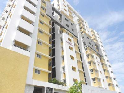 Gallery Cover Image of 1500 Sq.ft 3 BHK Apartment for rent in Ramaniyam Auroville, Thoraipakkam for 20000