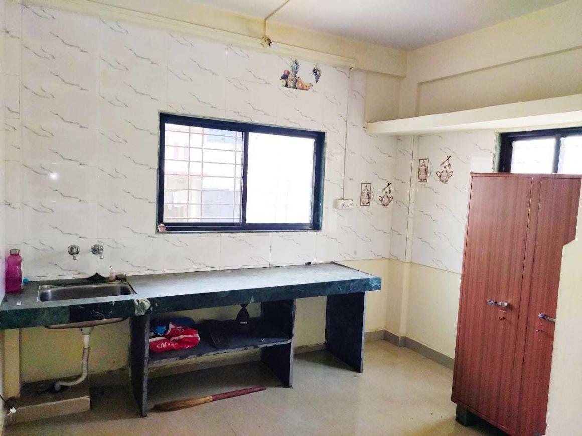Kitchen Image of Santkrupa Girls PG in Kharadi