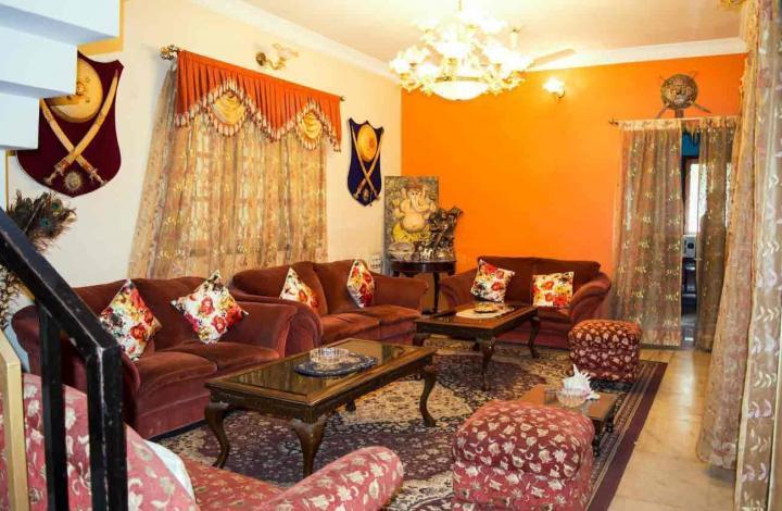 Living Room Image of PG 4642778 Vijayanagar in Vijayanagar