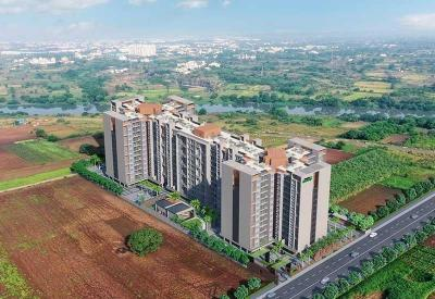 Gallery Cover Image of 888 Sq.ft 2 BHK Apartment for buy in Mangalam Breeze, Alandi for 3850000
