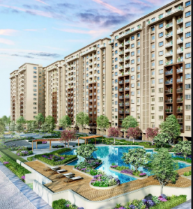 Gallery Cover Image of 1100 Sq.ft 3 BHK Apartment for buy in Provident Park Square Phase 2, Mallasandra for 5600000