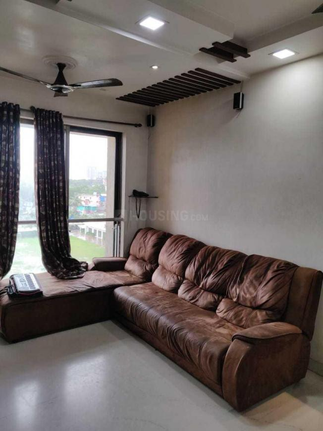 Living Room Image of 1054 Sq.ft 2 BHK Apartment for buy in Thane West for 13000000