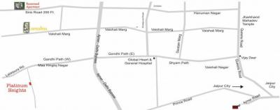 Gallery Cover Image of 715 Sq.ft 1 BHK Apartment for buy in Vaishali Nagar for 2200000