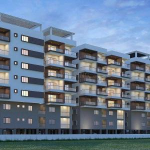 Gallery Cover Image of 1202 Sq.ft 2 BHK Apartment for buy in Krithika Sheshadris Silver Oak, Uppal for 4300000