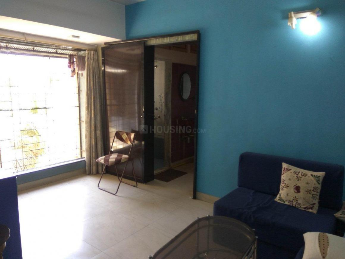 Living Room Image of 450 Sq.ft 1 BHK Apartment for rent in Malad East for 30000