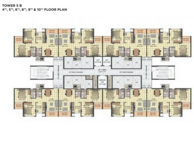 Gallery Cover Image of 1110 Sq.ft 3 BHK Apartment for buy in Oxyfresh Homes, Rohinjan for 11500000
