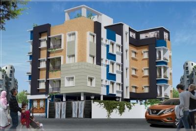 Gallery Cover Image of 750 Sq.ft 2 BHK Apartment for buy in Behala for 3075000