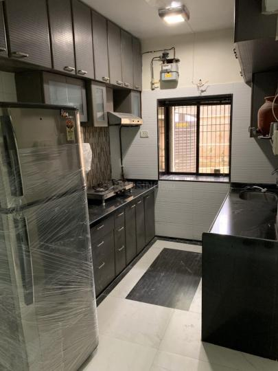Kitchen Image of 1100 Sq.ft 1 BHK Apartment for rent in Juhu for 65000