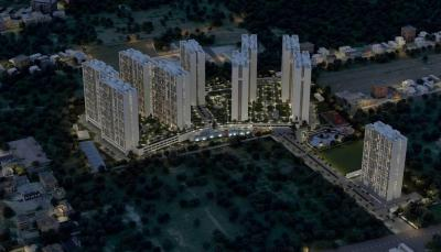 Gallery Cover Image of 678 Sq.ft 1 BHK Apartment for buy in Thanisandra for 4200000