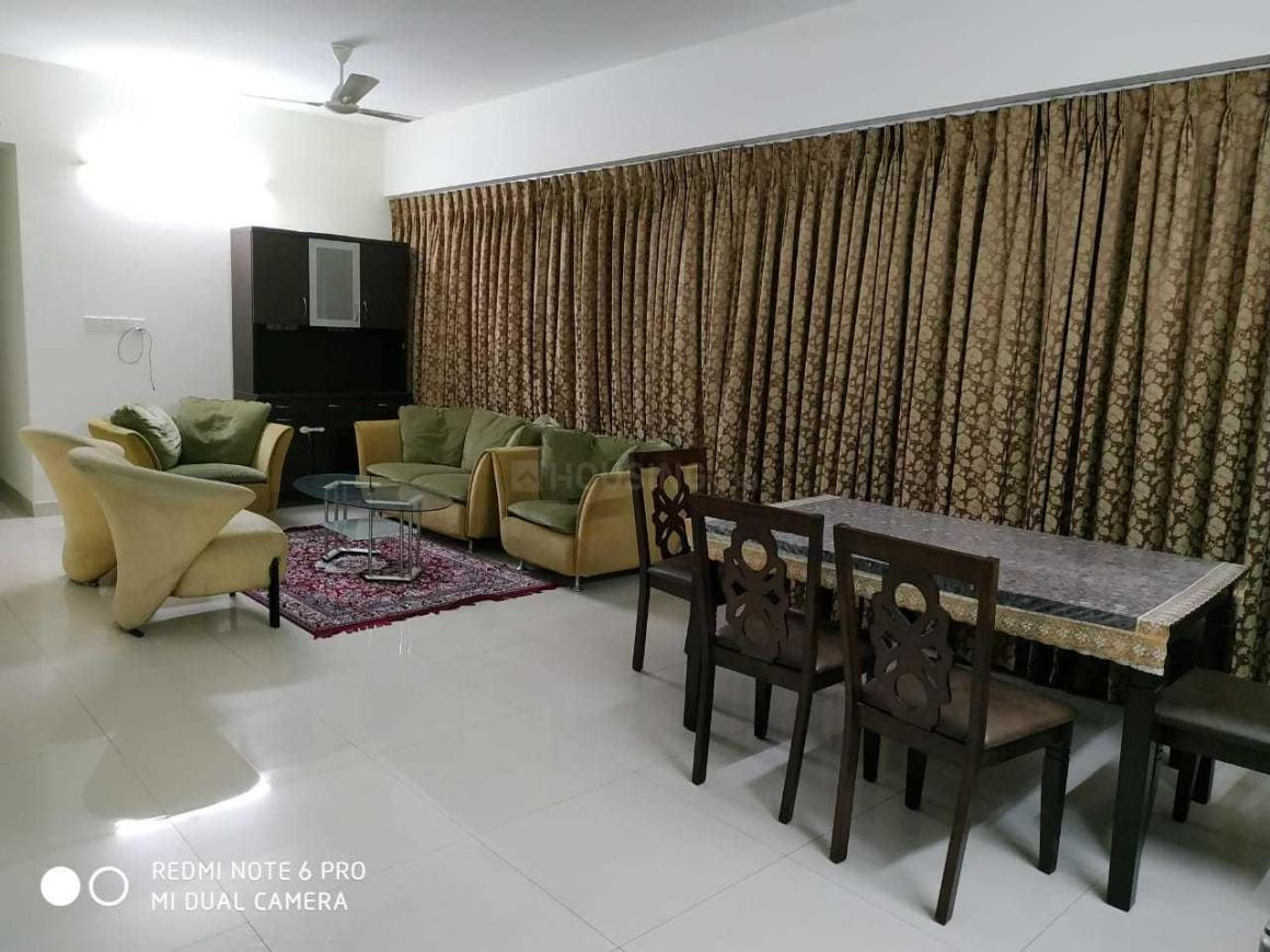 Living Room Image of 2055 Sq.ft 3 BHK Apartment for rent in Hadapsar for 55000