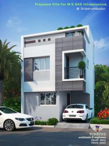 Gallery Cover Image of 729 Sq.ft 1 BHK Villa for buy in Sriperumbudur for 2450000