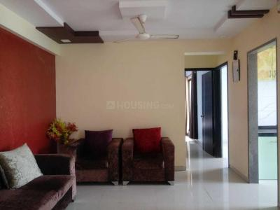 Gallery Cover Image of 1250 Sq.ft 2 BHK Apartment for rent in Airoli for 38000