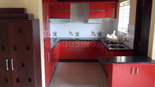 Kitchen Image of 1500 Sq.ft 3 BHK Apartment for rent in Whitefield for 25000
