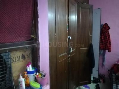 साउथ  एक्सटेंशन आई में प्रकाश पीजी के बेडरूम की तस्वीर