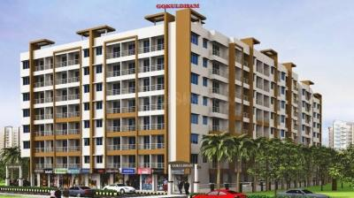 Gallery Cover Image of 580 Sq.ft 1 BHK Apartment for buy in Amar Gokuldham, Dombivli East for 2900000