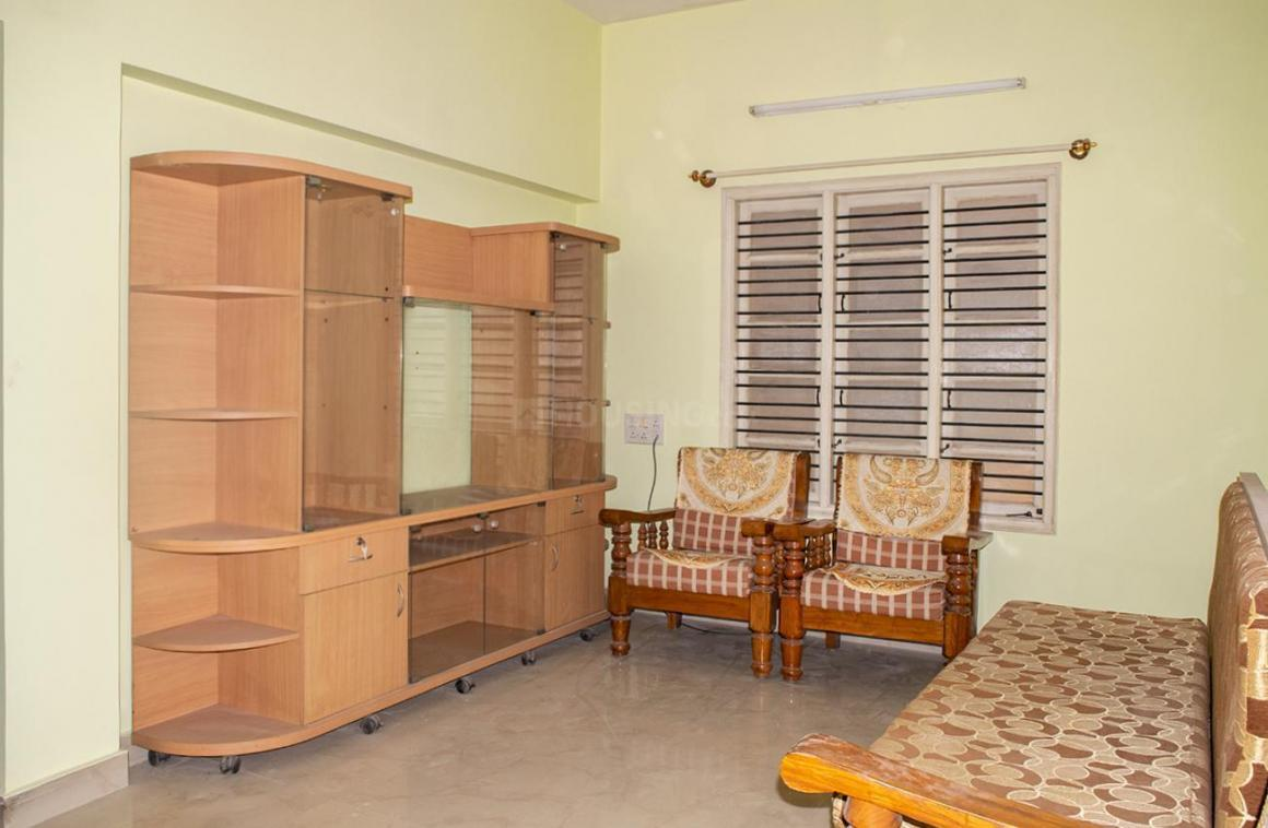 Living Room Image of 1300 Sq.ft 3 BHK Independent House for rent in Vibhutipura for 35000