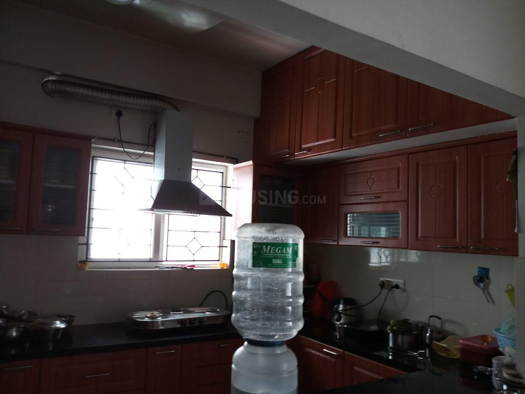 Kitchen Image of 2180 Sq.ft 3 BHK Apartment for rent in Thoraipakkam for 38000
