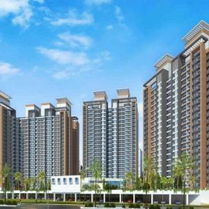 Gallery Cover Image of 950 Sq.ft 2 BHK Apartment for rent in Siddhi Highland Haven Building 1A Dew B Phase 1, Thane West for 22000