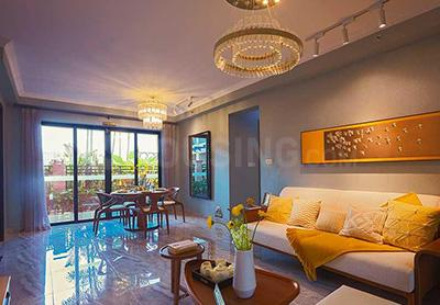 Gallery Cover Image of 675 Sq.ft 2 BHK Apartment for buy in Icon, Thane West for 9900000