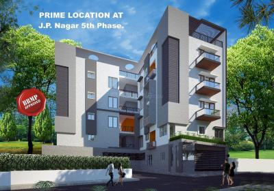 Gallery Cover Image of 1430 Sq.ft 3 BHK Apartment for buy in JP Nagar for 7450000