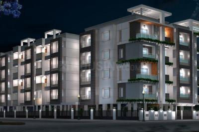 Gallery Cover Image of 1263 Sq.ft 2 BHK Apartment for buy in Shravanthi Shashwathi, 5th Phase for 7400000