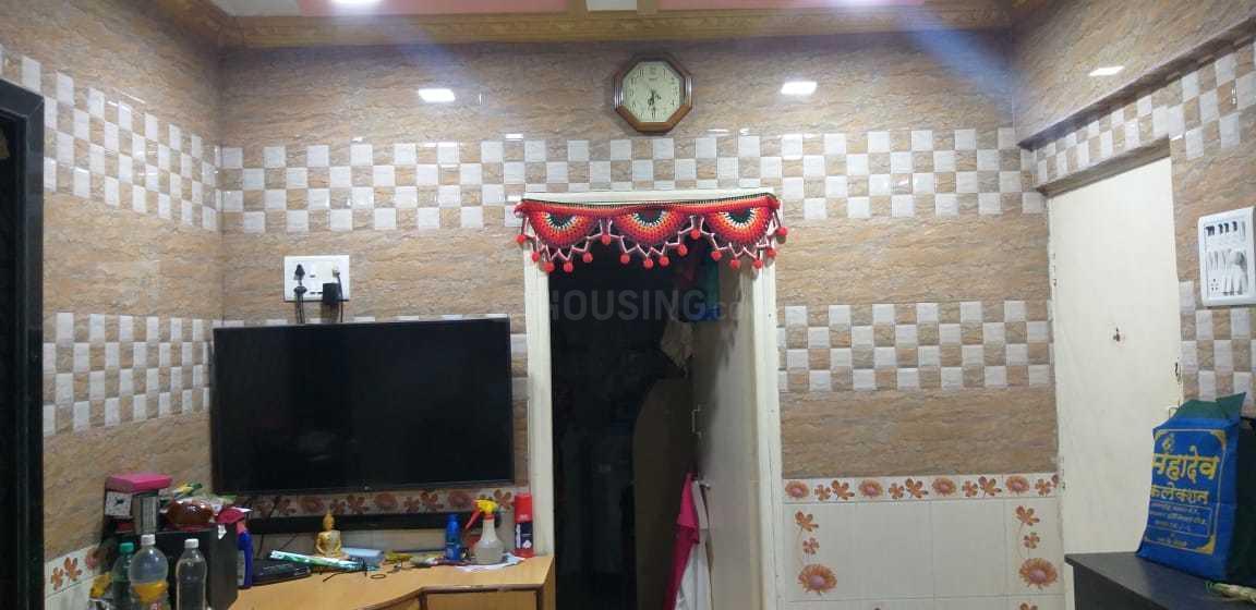 Living Room Image of 520 Sq.ft 1 BHK Apartment for buy in Kopar Khairane for 5000000