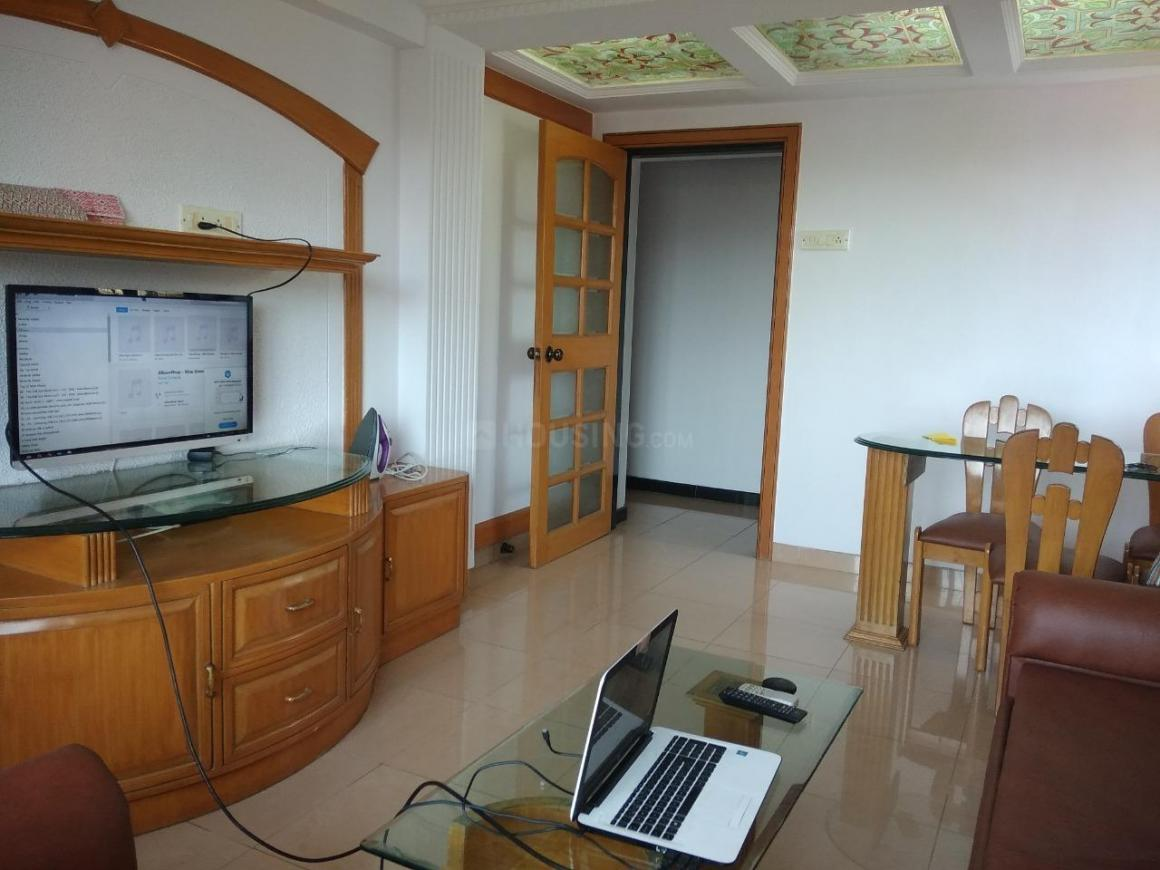 Living Room Image of 920 Sq.ft 1 BHK Apartment for rent in Santacruz West for 45000